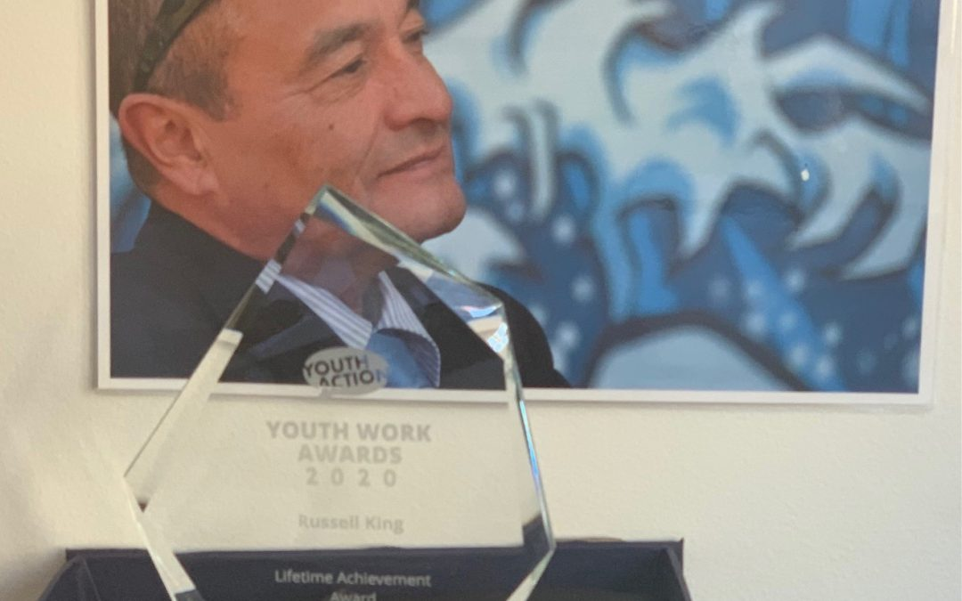 Russell King has received the NSW Youth Work Awards- Lifetime Achievement award 2020