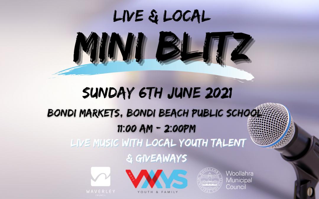 Mini Blitz – bring youth music back to Bondi
