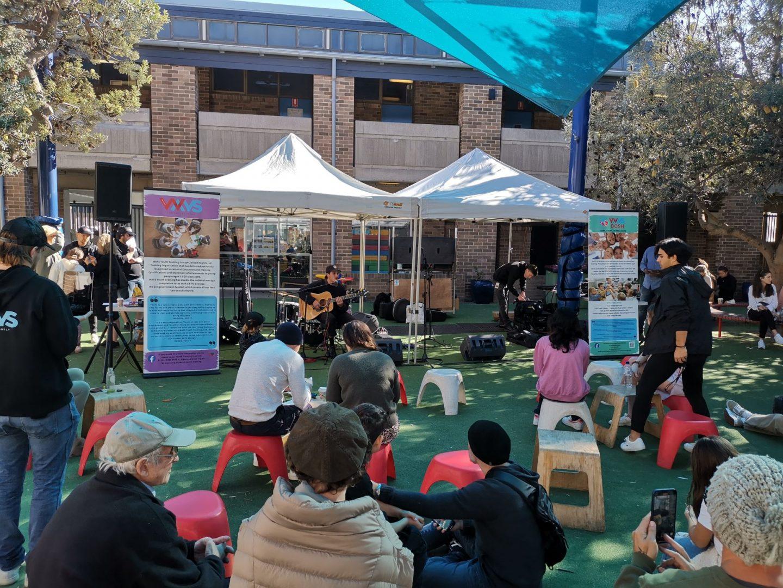 Mini Blitz brought the youth music culture back to Bondi.